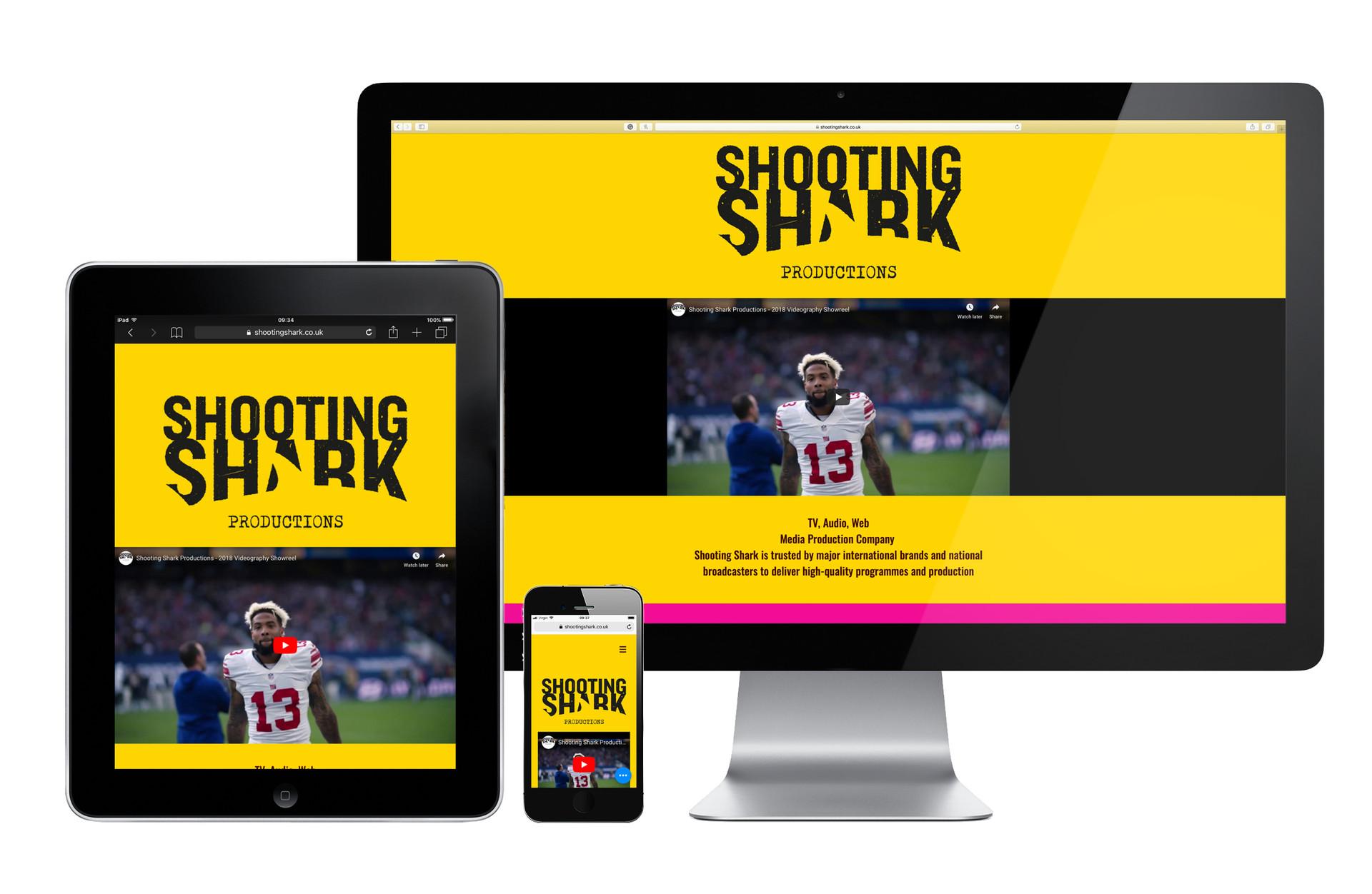 Shooting Shark Website
