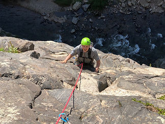 Colorado sport climbing trips in Clear Creek Canyon