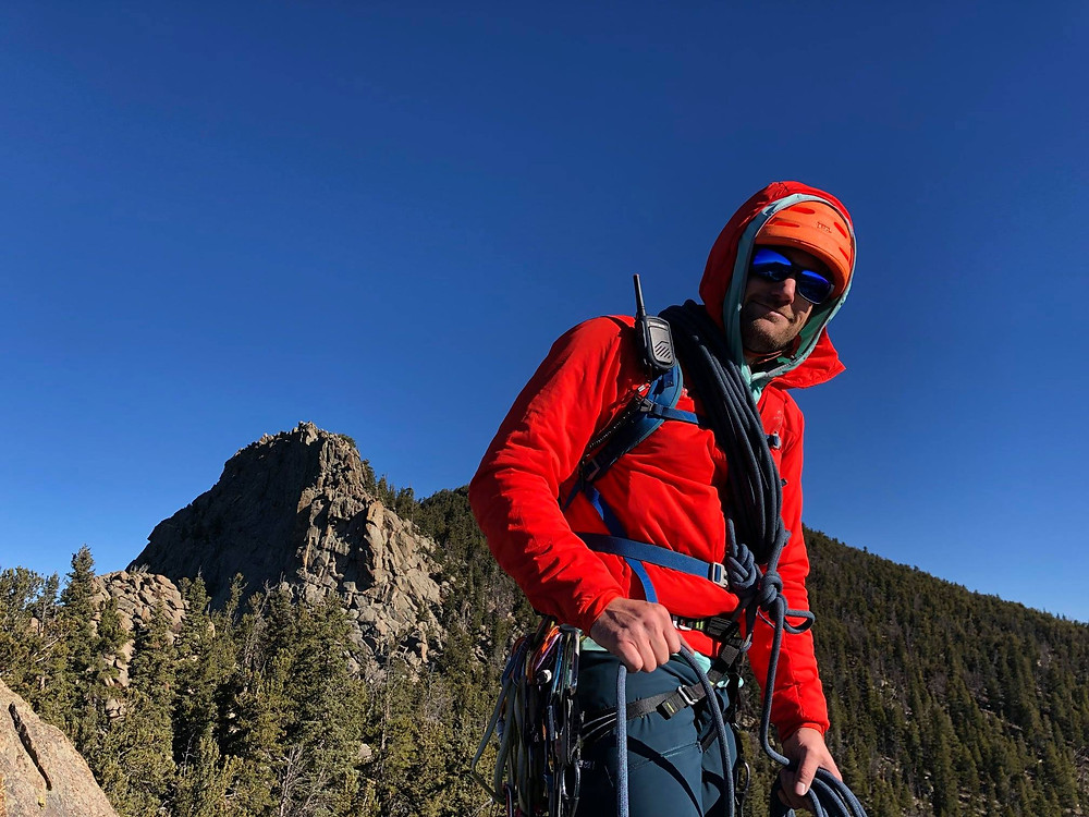 Alpine climbing in Colorado with the Rocky Talkie