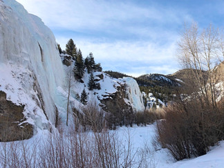 Denver Colorado ice climbing instruction