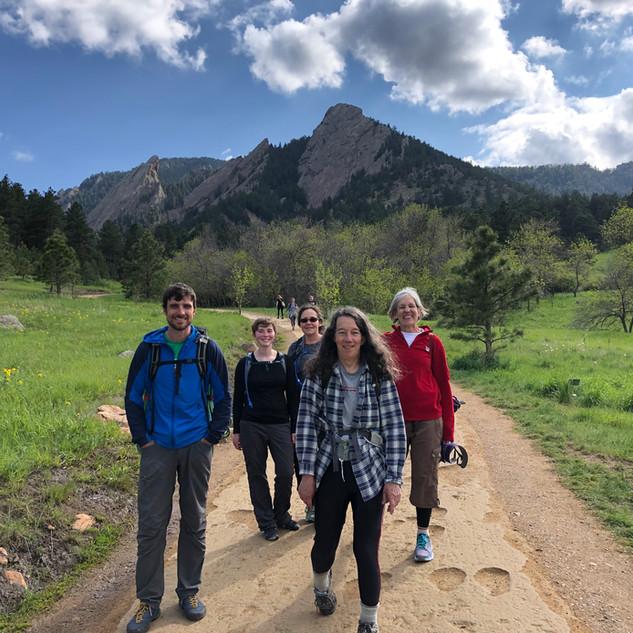 1st, 2nd, & 3rd Boulder Flatirons