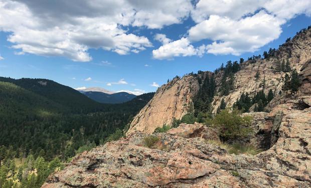 Rock Climbing in Staunton State Park