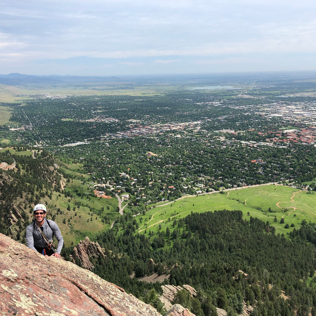 Direct Route on the 1st Flatiron