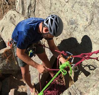 Clear Creek Canyon climbing instruction
