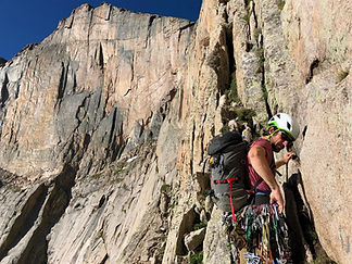 Rock climbing trips in Rocky Mountain National Park