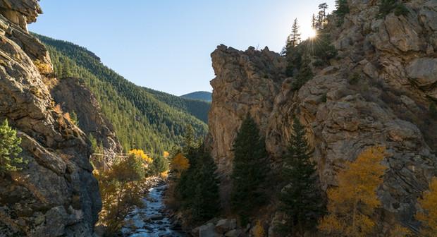 Rock Climbing in Clear Creek Canyon
