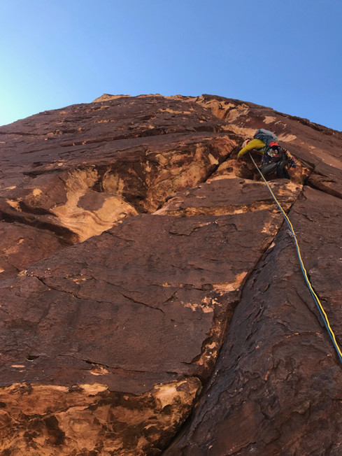 Ben Coryell is one of the owners of Golden Mountain Guides
