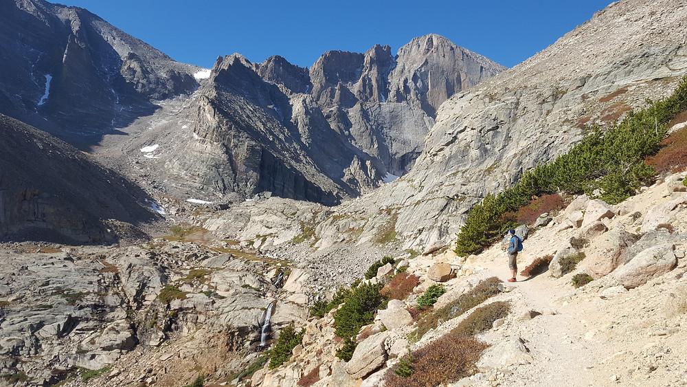 Hiking Longs Peak in Rocky Mountain National Park