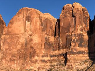 Rock climbing trips in Moab Utah