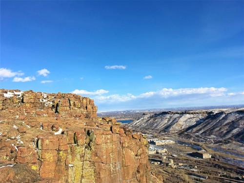 Rock Climbing at North Table Mountain