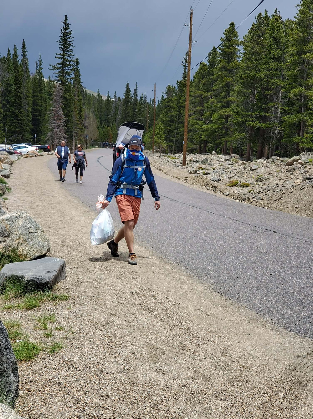 Leave No Trace principles at work