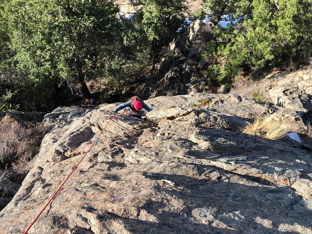 Tiers of Zion rock climbing