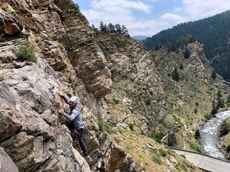 Rock climbing classes in Golden
