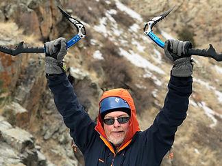 Ice climbing trips near Golden Colorado