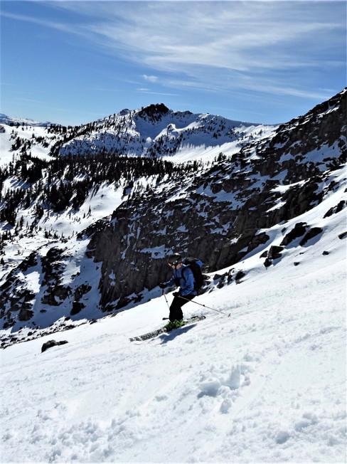 Doug Morse is a guide for Golden Mountain Guides