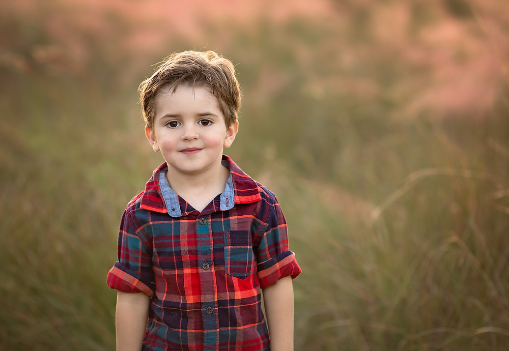Cute little guy at Family Photoshoot in Siesta Key