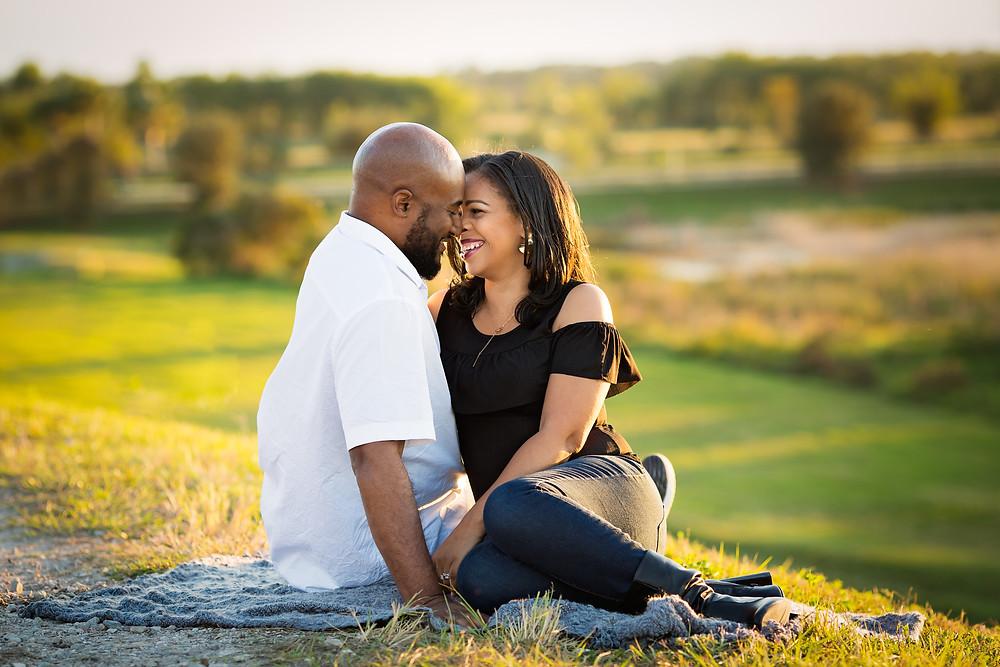 Gorgeous Couple at Sarasota Celery Fields Photoshoot