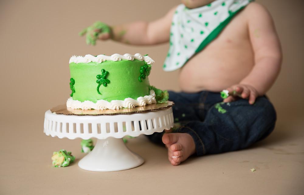 St. Patty's Day cake, Venice Florida Photographer