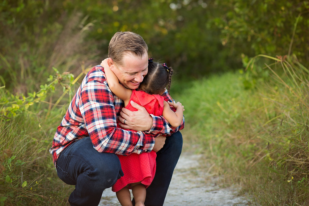 Hugs from Daddy
