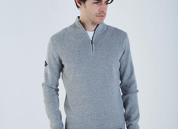 Diesel grey 1/4 zip sweater