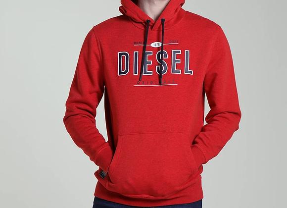 Diesel red hoodie
