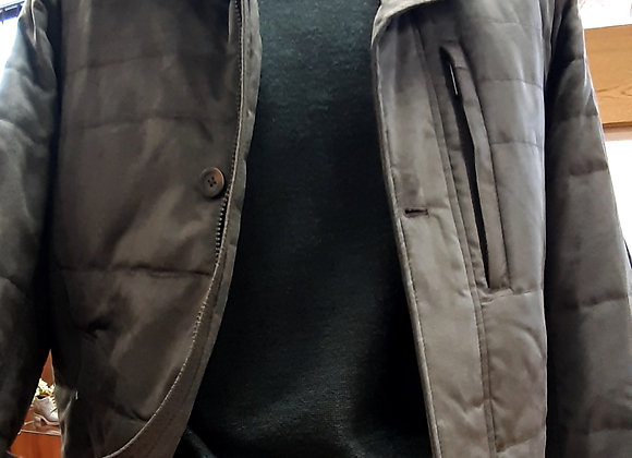 Kahaki green casual jacket