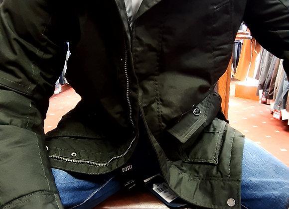 Green parka  style jacket