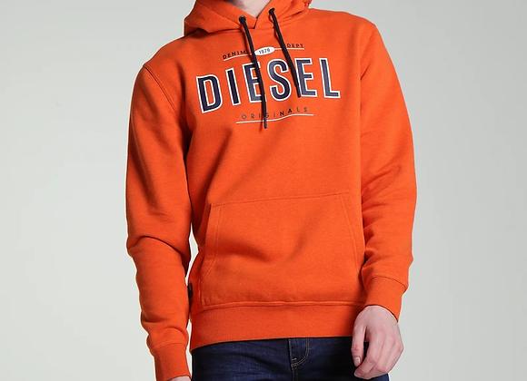 Diesel orange hoodie