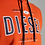 Thumbnail: Diesel orange hoodie