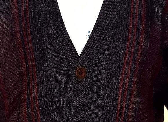 Plum buttoned cardigan