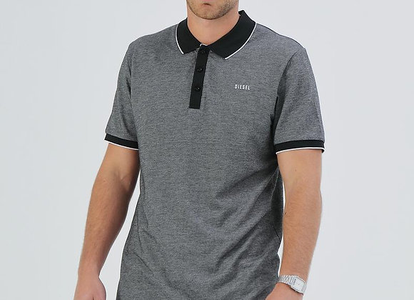Diesel Grey and black polo