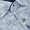 Thumbnail: BENETTI MARK NAVY PRINT SHORT SLEEVE SHIRT