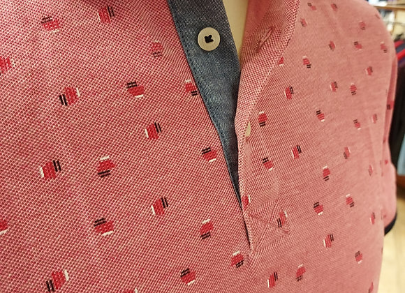 CHERRY PATTERNED POLO