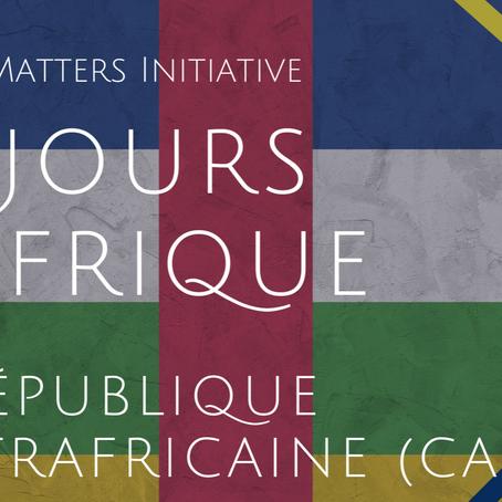 #56JoursD'Afrique- République Centrafricaine