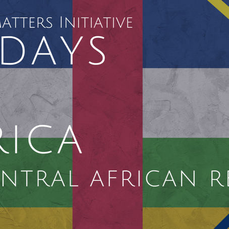 #56DaysofAfrica- Central African Republic