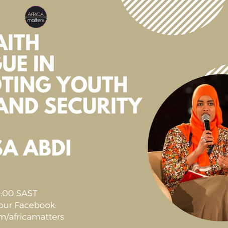 The Youth Combatting Terrorism Using Interfaith Dialogue with Balqesa Abdi