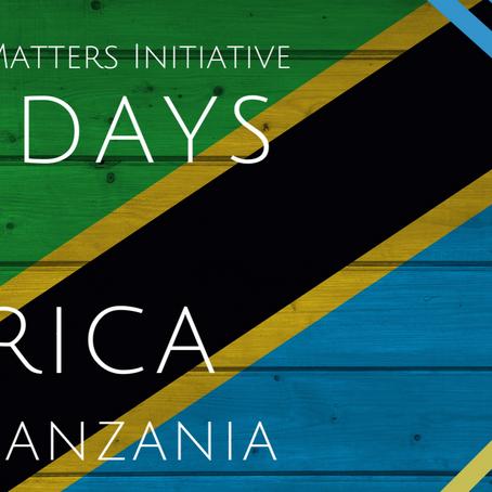 #56DaysofAfrica- Tanzania