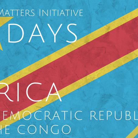 #56DaysofAfrica - Democratic Republic of Congo