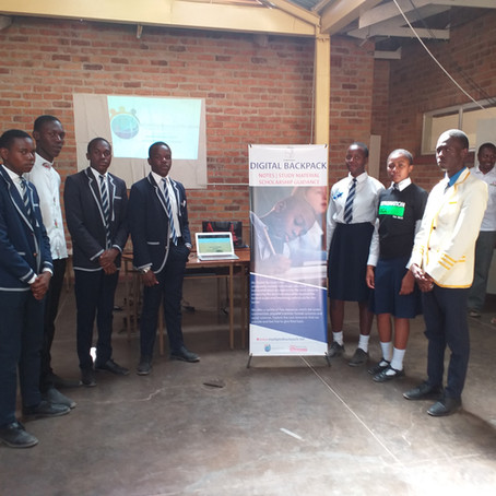 """My Digital Backpack"" A digital project aiming to revolutionize the education system in Zimbabwe"