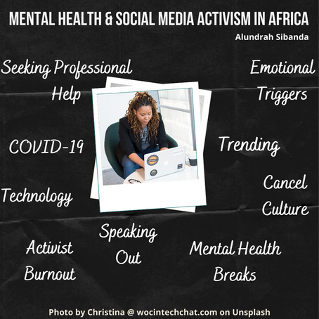 Insights on Mental Health and Social Media Activism in Africa