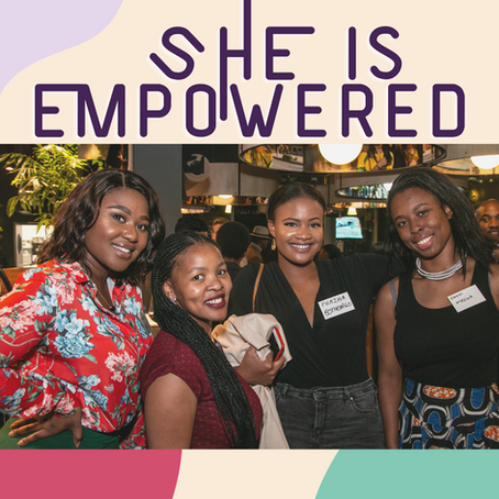 ShE is Empowered Update: Personal Development with Amina Mubarak