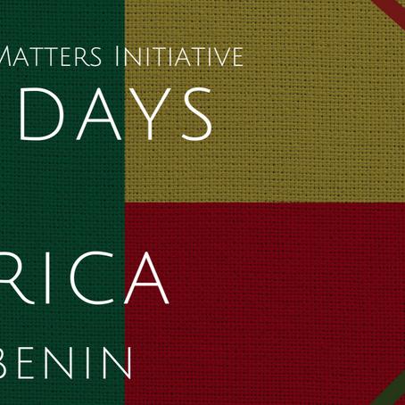 #56DaysofAfrica- Benin