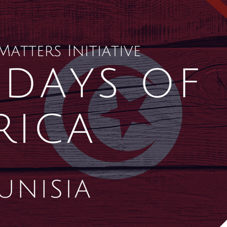 #56DaysofAfrica - Tunisia