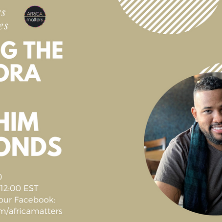 Building Bridges: Africa, The Caribbean and The Future with Abrahim Simmonds