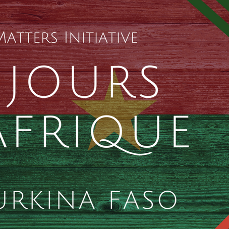#56JoursD'Afrique- Burkina Faso