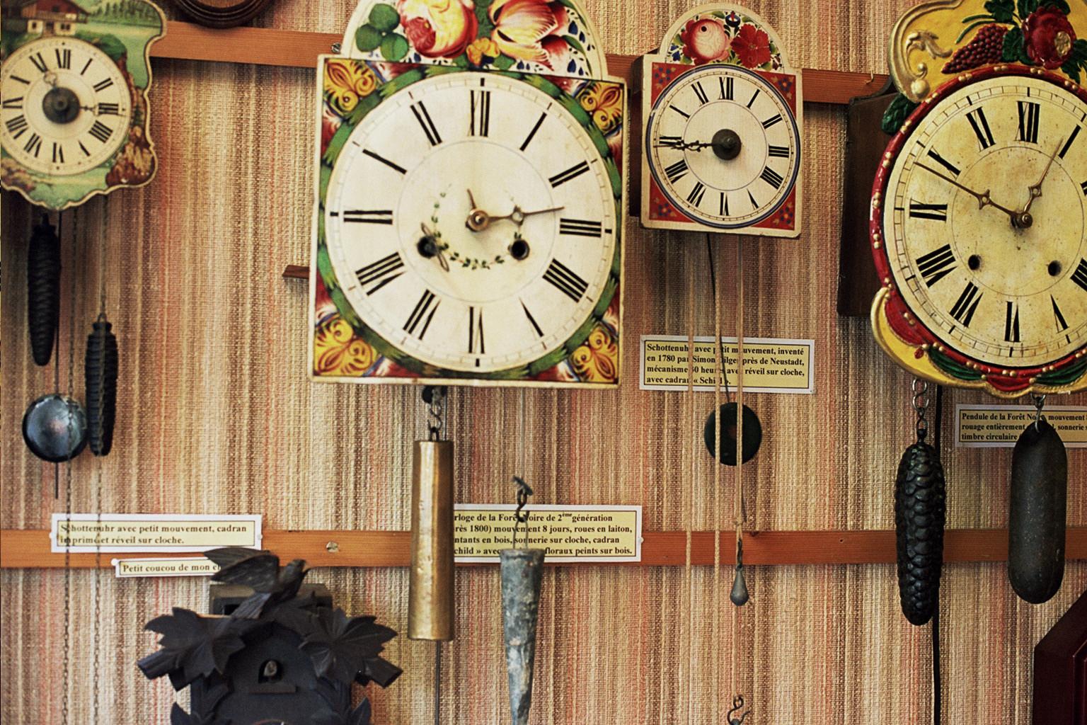 Horloges de la Forêt Noire