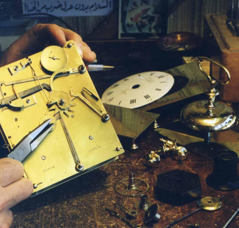 Restauration d'une pendule Capucine