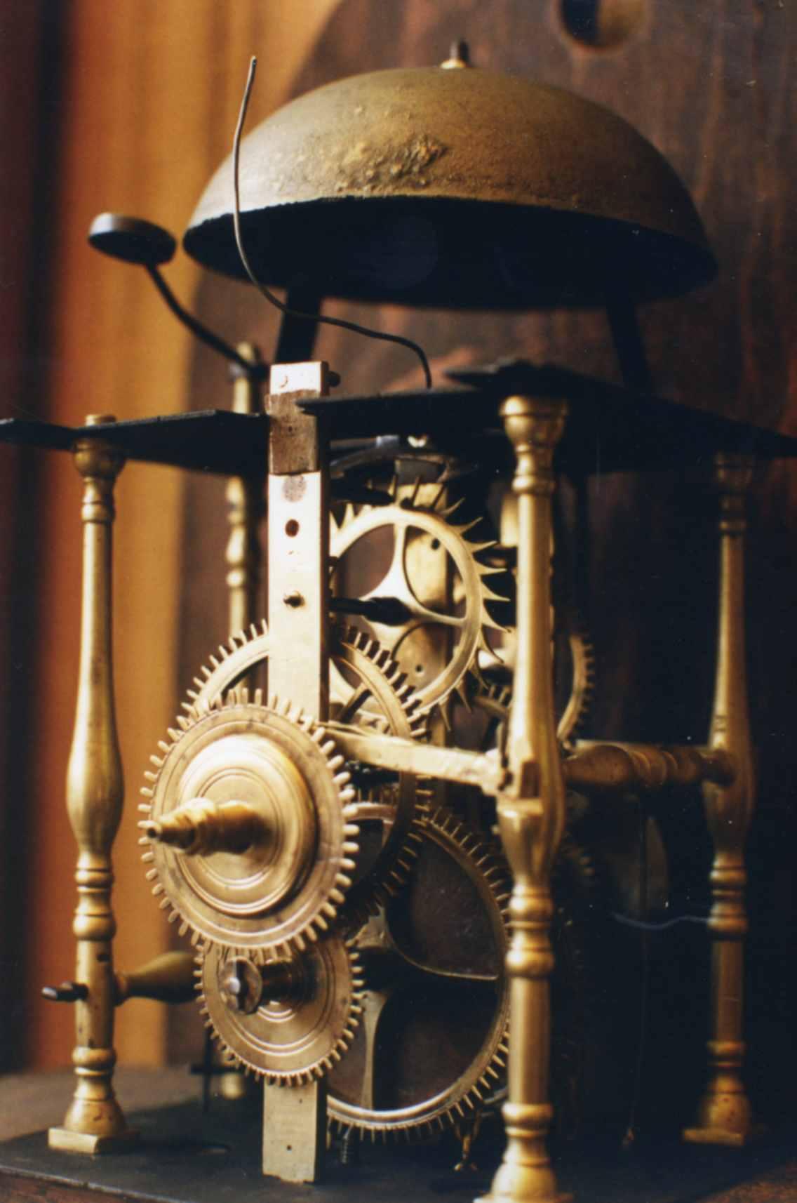 Horloge hollandaise du XVIIIème