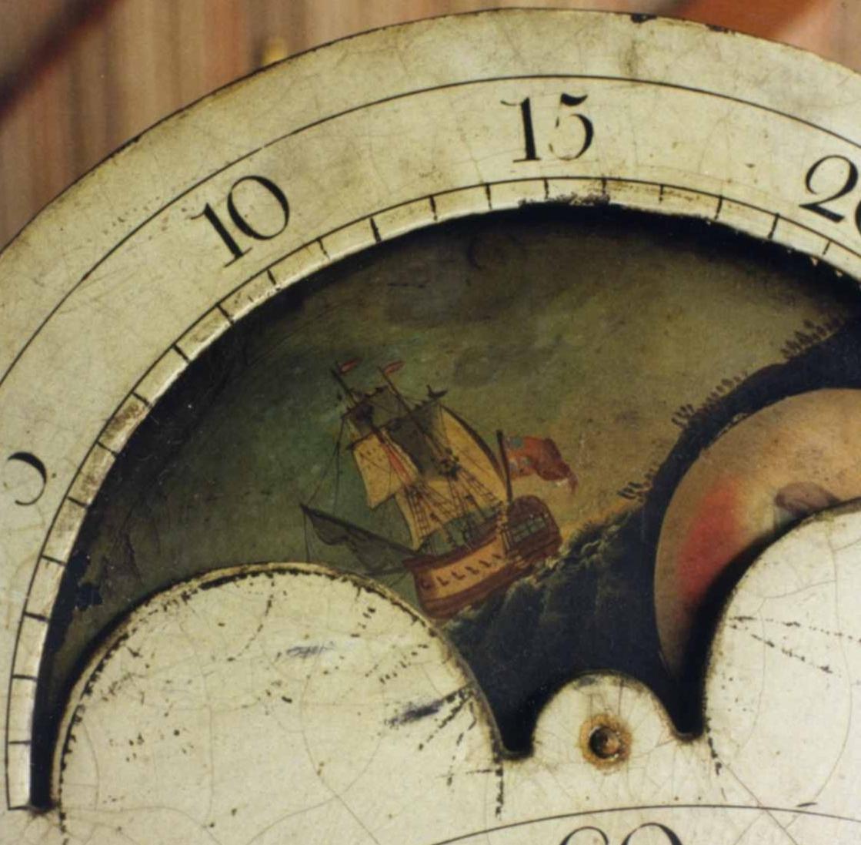 cadran d'une horloge anglaise
