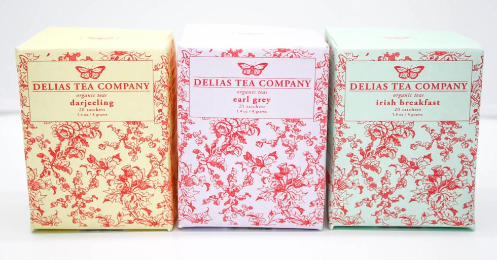 Graphic Design I: Tea Packaging Design